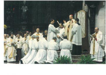 Solennità di S. Carlo 1992 - Ordinazioni Diaconali